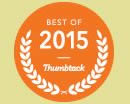 2015 Best of Thumbtack award for Debbie Meoloe